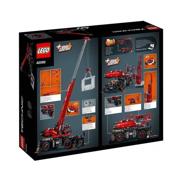 LEGO Technic Kaba Arazi Vinci 42082