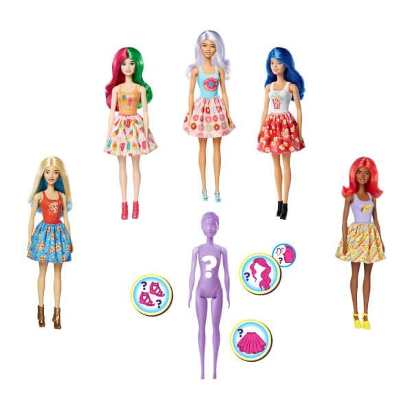 Barbie Color Reveal Renk Değiştiren Sürpriz Bebekler S2 GTP41