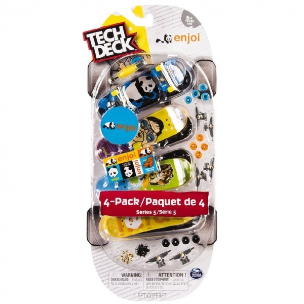 Tech Deck Parmak Kaykayı 4'lü Paket