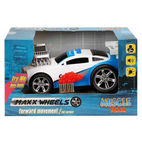 Maxx Wheels Sesli ve Işıklı Yarış Arabası