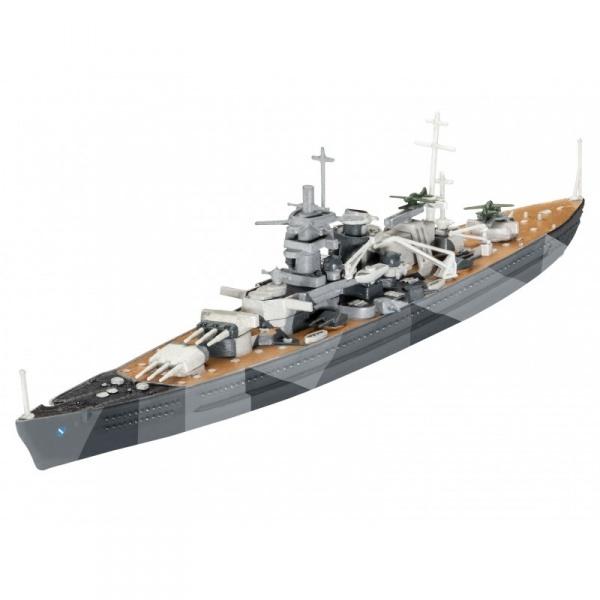 Revell 1:1200 Scharnhorst Model Set Gemi