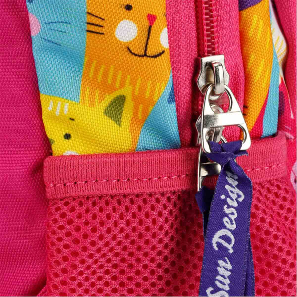 Kedi Desenli Anaokul Çantası 9021