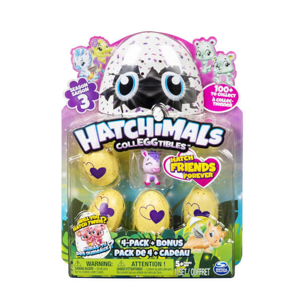 Hatchimals Colleggtibles 4'lü Paket Seri 3