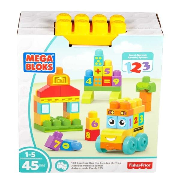 Mega Bloks Eğlenceli Sayı Treni FBM80