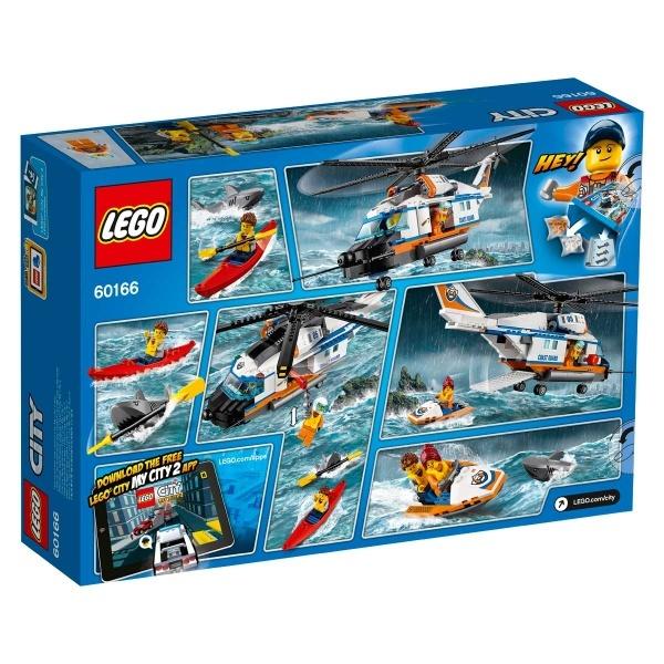 LEGO City Ağır Kurtarma Helikopteri 60166