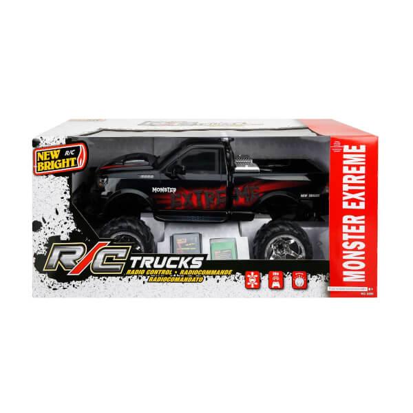 1:16 Uzaktan Kumandalı Off Road Trucks Monster Extereme Araç