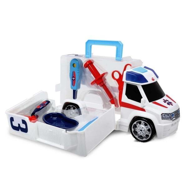 Ambulans Şekilli Çantalı İlk Yardım Seti 33 cm.