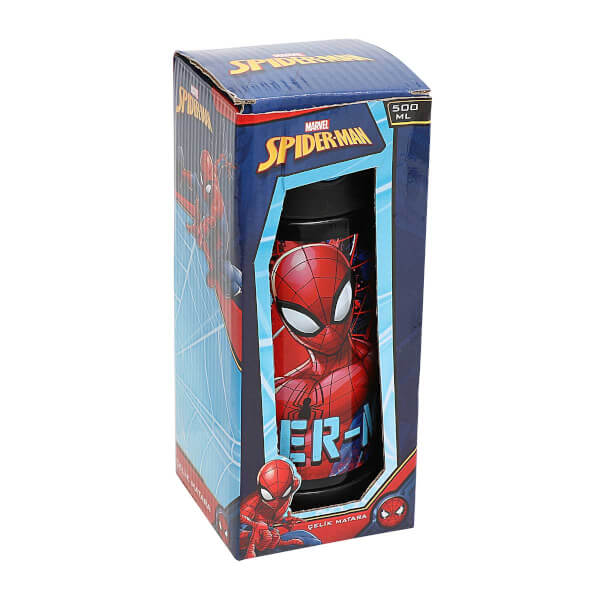 Spiderman Çelik Matara 500 ml. 444050