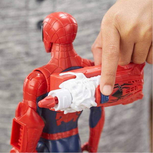 Spiderman Titan Hero Power Fx Spiderman Figür 30 cm.