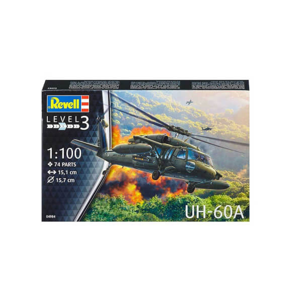 Revell 1:100 UH-60A Helikopter 4984