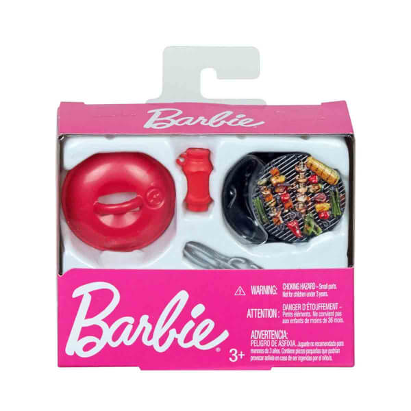 Barbie'nin Hayatından Eğlenceli Aksesuarlar FJD57