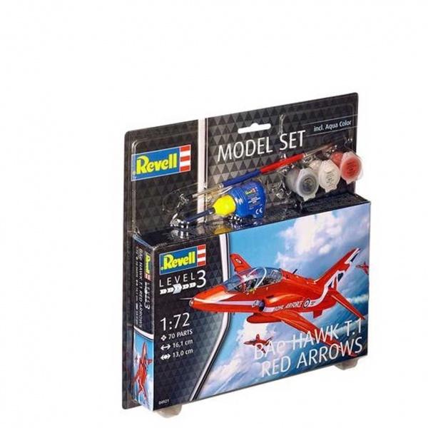 Revell 1:72 Hawk T1 Red Arrow Model Set Uçak
