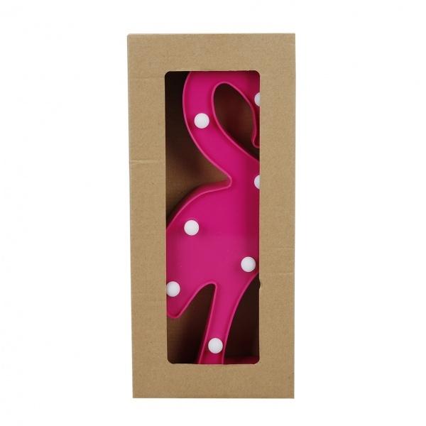 Dekoratif Plastik Işıklı Flamingo