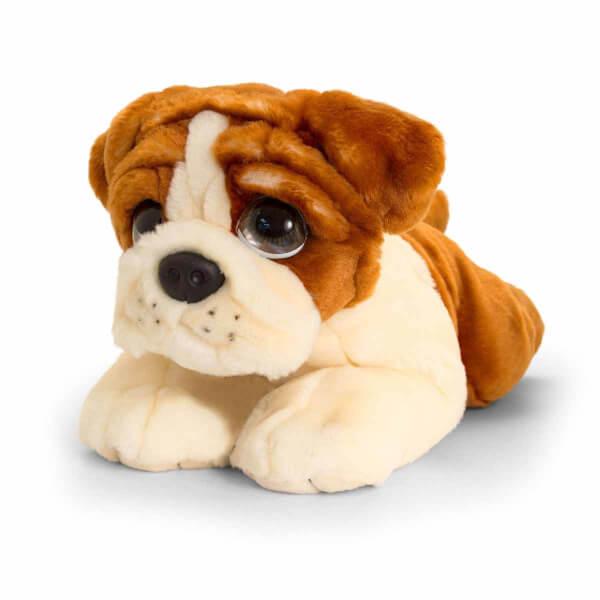 Bulldog Peluş Köpek 32 cm.