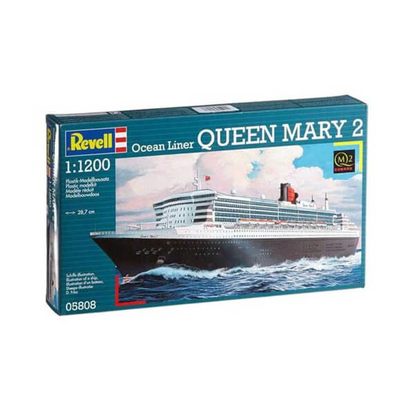 Revell 1:1200 Queen Mary 2 Gemi 5808