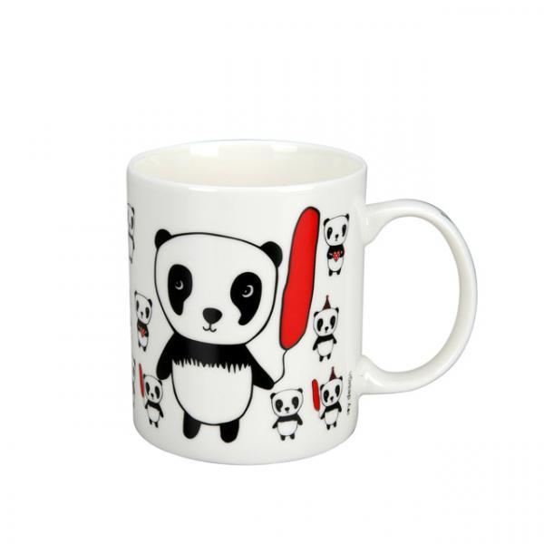 Panda In Love Porselen Kupa