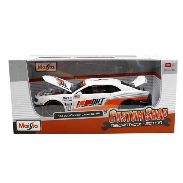 1:24 Maisto Chevrolet Camaro SS 2010 Model Araba