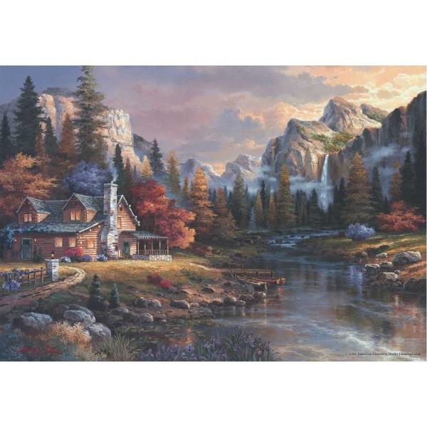 500 Parça Puzzle : Vadinin Sonundaki Ev