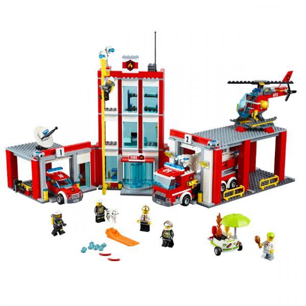 LEGO City İtfaiye Merkezi 60110
