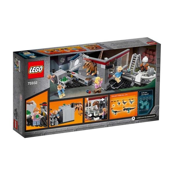 LEGO Jurassic World Velociraptor Chase 75932