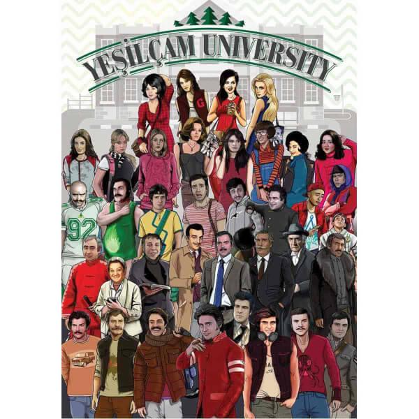 1500 Parça Puzzle : Yeşilçam Üniversitesi