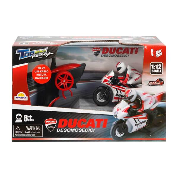 1:12 Uzaktan Kumandalı Ducati Usb Şarjlı Motor