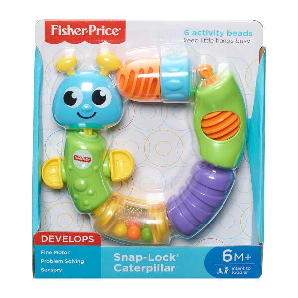 Fisher Price Tak-Çıkar Renkli Tırtıl W9834