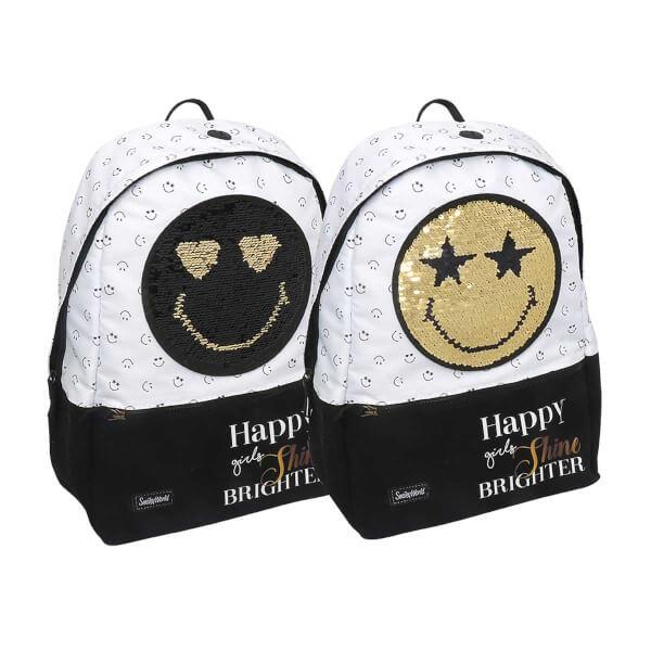 Smiley Happy Girls Okul Çantası 41597