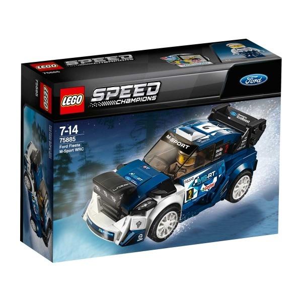 LEGO Speed Champions Ford Fiesta M-Sport WRC 75885
