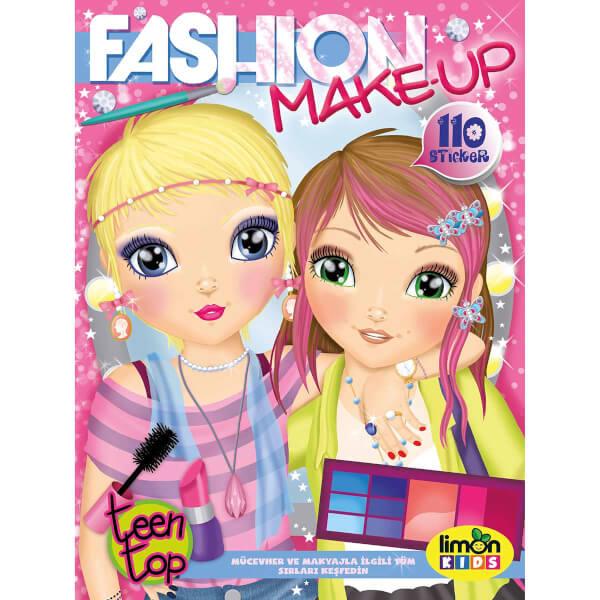 Fashion Make Up Boyama Kitabı