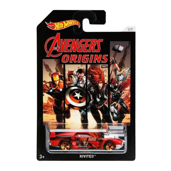 Hot Wheels Arabalar Avengers 3 Özel Serisi FKD48