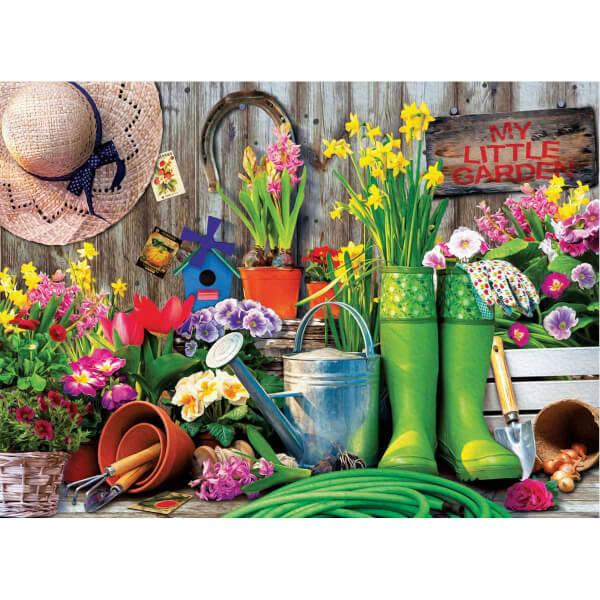 1000 Parça Puzzle : Garden Tools