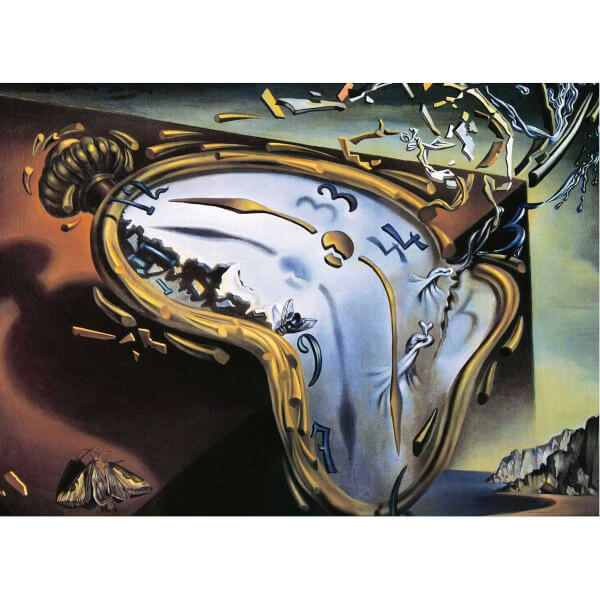 1000 Parça Puzzle : Soft Watch At Moment of First Explosion - Salvador Dalí