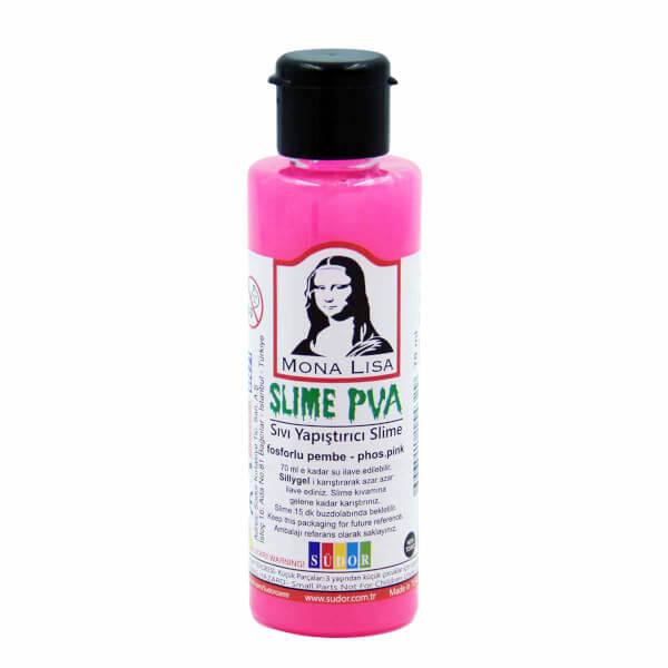 Sıvı Yapıştırıcı Slime Jeli Fosforlu Pembe 70 ml