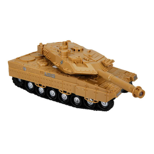 1:32 Sesli ve Işıklı Askeri Tank