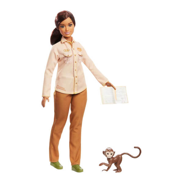 Barbie Nat Geo Bebekleri GDM44