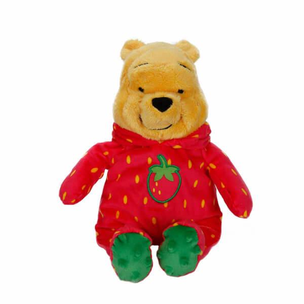 Winnie The Pooh Çilek Kıyafetli Peluş 30 cm.
