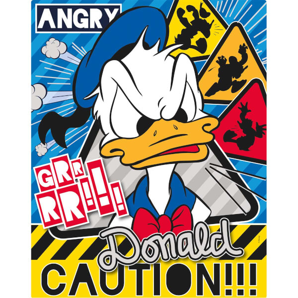 100 Parça Puzzle : Donald Duck
