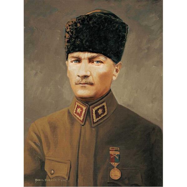 500 Parça Puzzle : Başkomutan Mareşal Gazi Mustafa Kemal Atatürk