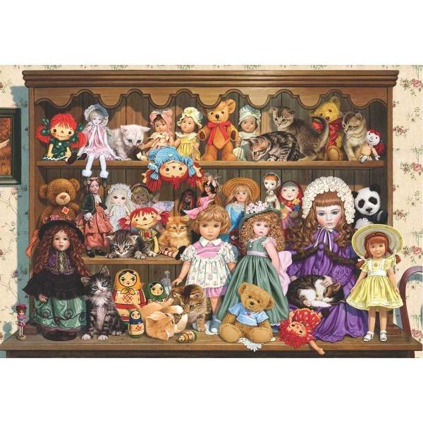 500 Parça Puzzle : Büyükannemin Koleksiyonu