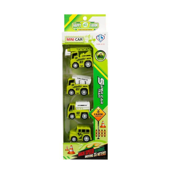 4 Araçlı Mini Çevre Araçları