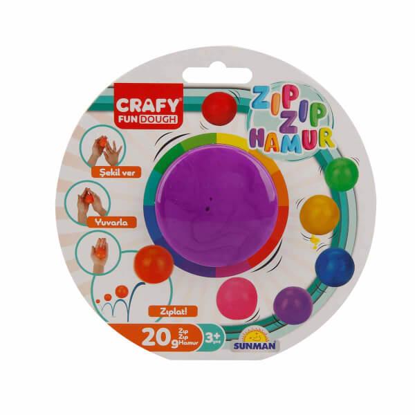 Crafy Zıp Zıp Oyun Hamuru 20 gr.