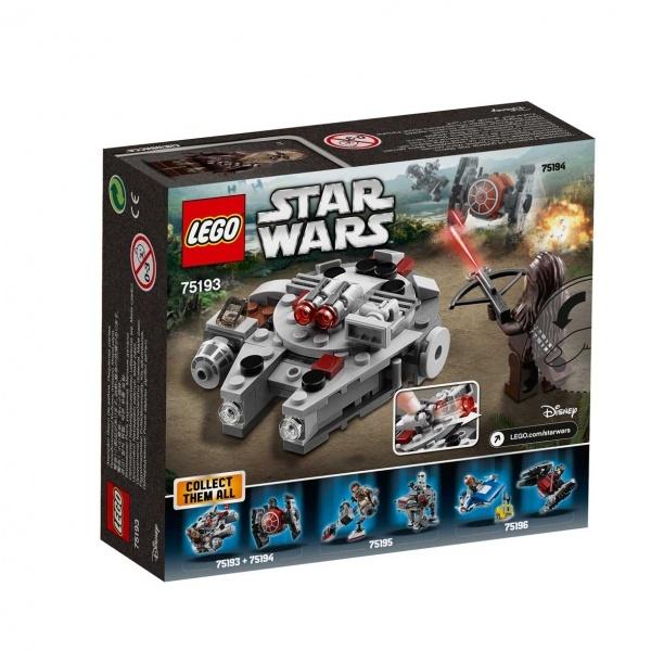 LEGO Star Wars Millennium Falcon Mikro Savaşçı 75193