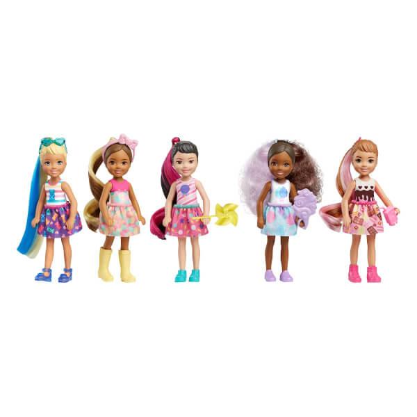 Barbie Color Reveal Renk Değiştiren Sürpriz Chelsea Bebekler S1 GPD41