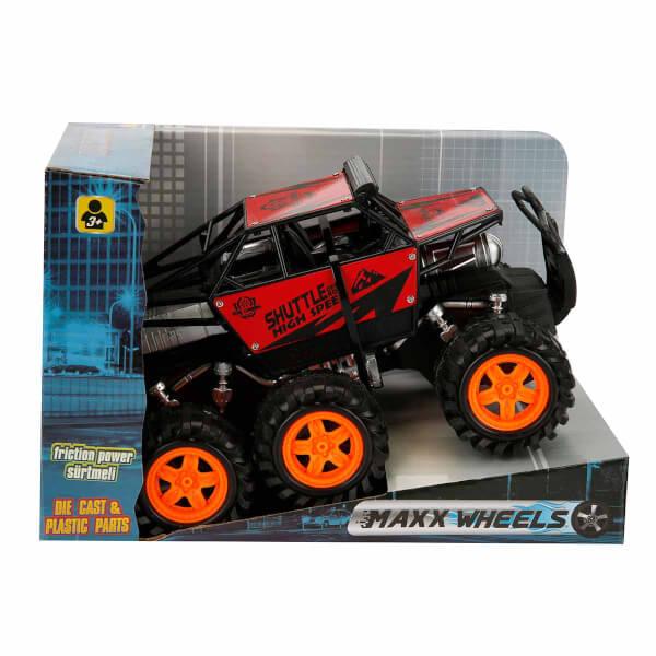 Maxx Wheels Rock Crawler Sürtmeli Araba 21 cm.