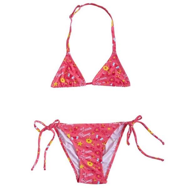 Slipstop Kız Çocuk Little Princess Bikini