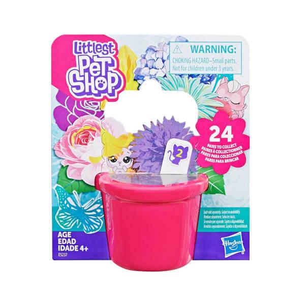 Littlest Pet Shop Miniş Çiçek Partisi Koleksiyonu Sürpriz Paket E5237