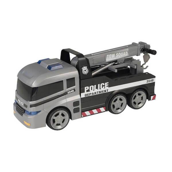 Teamsterz Sesli ve Işıklı Polis Çekici Araç