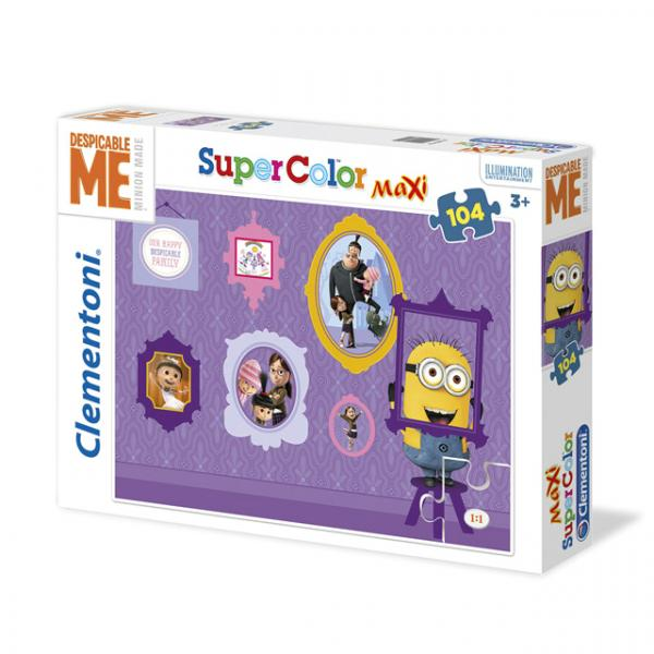104 Parça Maxi Puzzle : Minions You Say Goodbay I Say Yellow