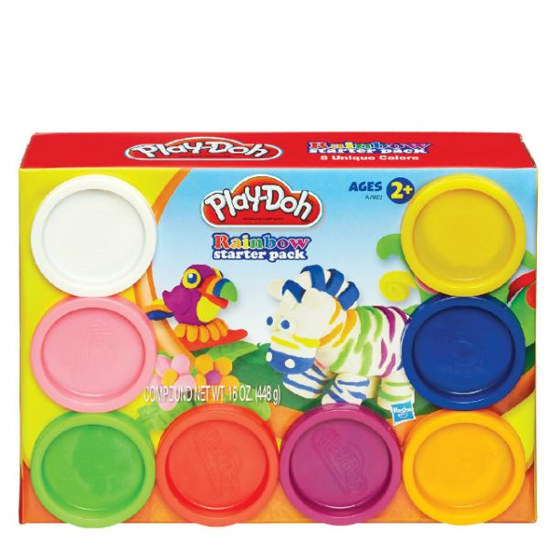 Play Doh Gökkuşağı Seti